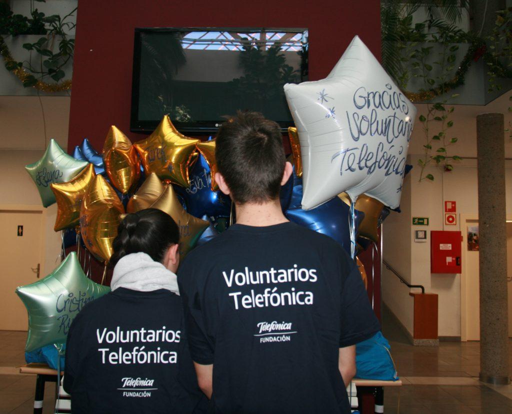 GRACIAS Voluntarios Telefónica