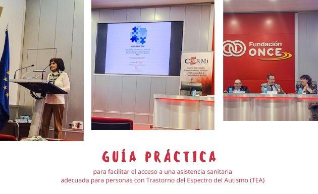 NUEVO HORIZONTE en la presentación de la guía asistencia sanitaria para personas con TEA